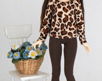 Sweater+socks for bjd slim msd / Minifee (LE1)