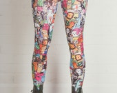 Size S - Katie's Imaginary Friends - Leggings - Made in the UK