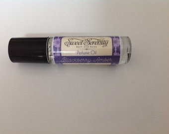 Blackberry Amber Perfume Oil