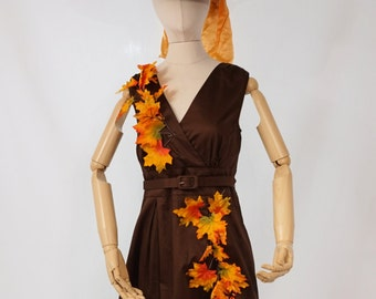Woman's Halloween Harvest Witch Costume - Size 10-12