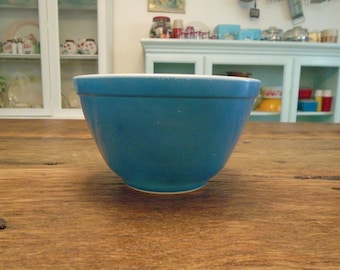 Pyrex-Primary Blue #401 Mixing Bowl