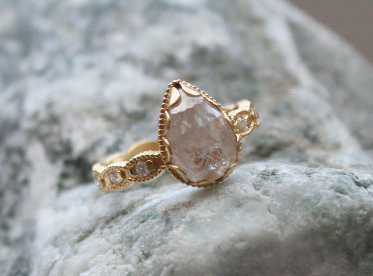 megan thorne diamond ring engagement ring 277 cts total