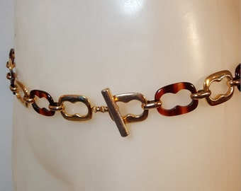 FREE  SHIPPING   Lucite  Chain  Belt