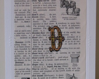 Vintage D Dictionary Page