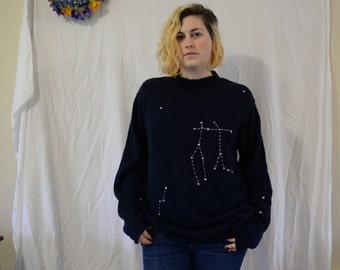 Zodiac Constellation Sweater: Gemini