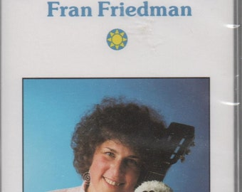 Unopened Cassette of Songs for a Smile by Fran Friedman, 1991, great shape