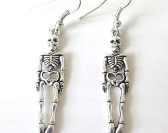 Halloween Skeleton Earrings
