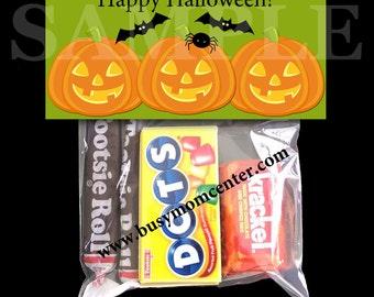 Halloween Pumpkin Bag Topper