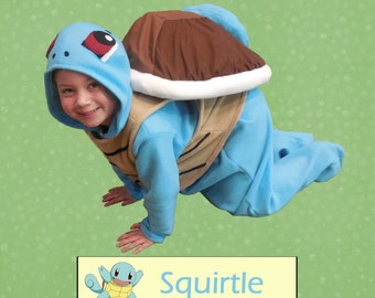 Pokemon Squirtle Costume Custom-made Child Sized