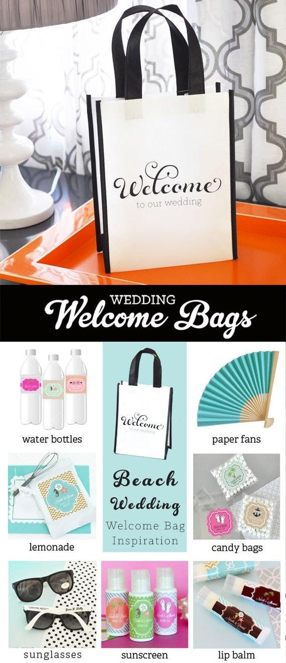 Destination Wedding Gift Bag Ideas: Items Similar To Destination Welcome Bags