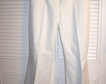 Vintage  Michael Kors White  Dynamite Summer  Pants ! Never Worn.  Beautiful Size 14