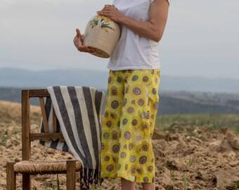 Sunflowers pants (before 95 euros)