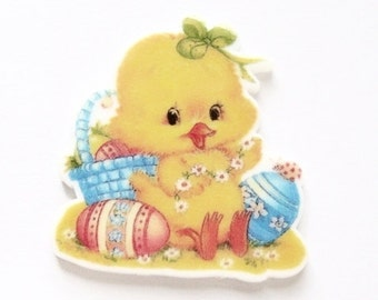Easter Chick Embellishment