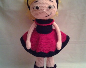 ALYA Crochet Amigurumi Doll - Crochet Doll