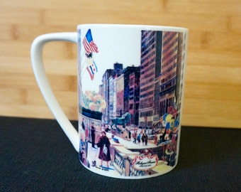 Chicago; Jumbo Coffee Mug; Approx. 5 x 5 (inc handle); Heavy Ceramic !!!