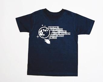 30 Rock Werewolf Bar Mitzvah - Adult T-Shirt - MULTIPLE COLORS