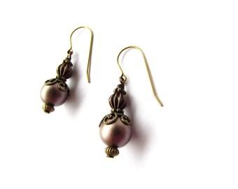 Neo-Victorian earrings