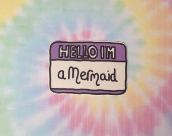 Hello I'm A Mermaid Sticker