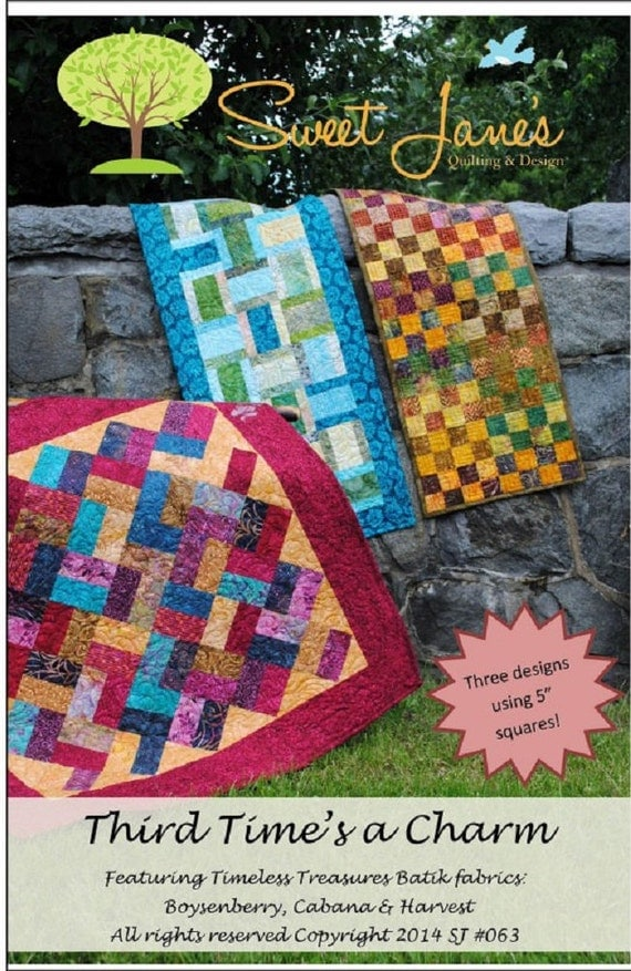 pattern third time s a charm sweet s quilting