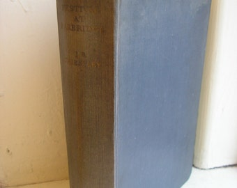 Vintage 1st edition book Festival at Farbridge J B Priestley 1950s hardback small town English life book collectors readers gift 207