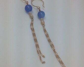 Blue earrings - cheap boho jewelry - something blue - boho earrings set - hippie earrings - earrings gypsy - boho jewelry - boho chic