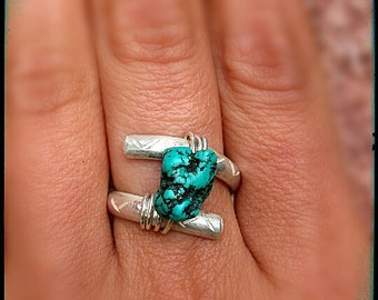 Native Woman Ring