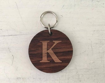 Customised Initial Key Ring