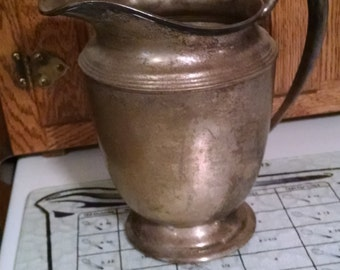 Vintage Water Pitcher, Middletown Silverware, E.P.-N.S.