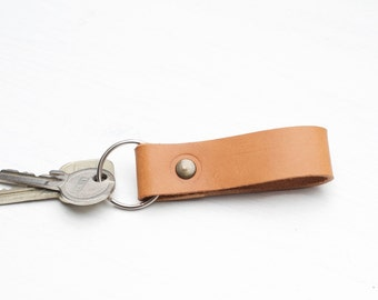 Veg Tanned Leather Key Chain