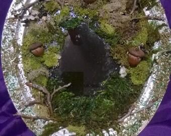 Woodland Faerie Scrying Mirror