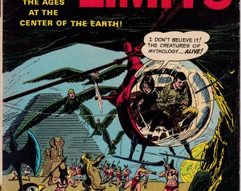 The Outer Limits #10, October 1966 Issue - Dell Comics - Grade Fine