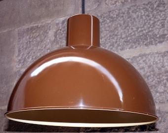 Iconic 1970s MIDI BUNKER pendant light, designed by Jo Hammerborg for Fog & Mørup.