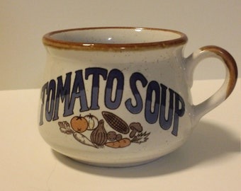 Vintage Tomato Soup Mug 1970's