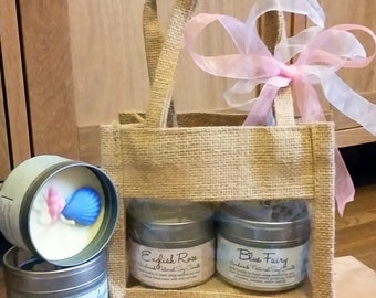 Two Candle Gift Set