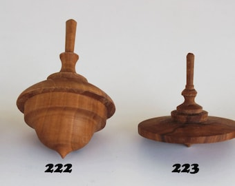 HandMade Wooden Spinning top Toy