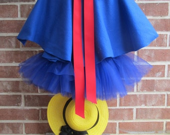 Madeline Cape and Hat, Madeline of Paris Costume, Madeline