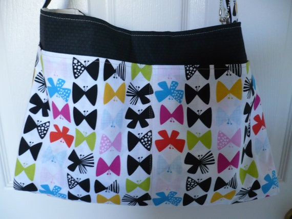 Black Bow Tie Purse Diaper Bag