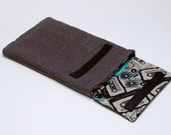 Padded Sleeve for iPad - iPad Case - Velcro iPad Sleeve
