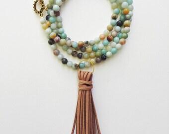amozonite necklace
