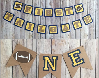 First Tailgate Birthday Party Package, First Birthday Party Package, Boy Birthday Party Decorations
