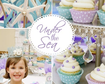 Under the Sea Party Package-Printable