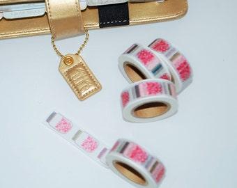 Washi Tape. Heart Mason Jar