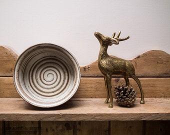 Vintage TREMAR bowl, studio pottery, modern, collectable, 70's