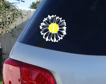 Creative Design Unique Decor By JensVinylDecals On Etsy - Monogram decal for car window