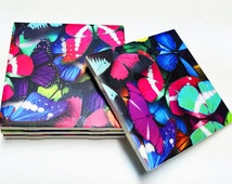 Butterfly Coasters - Butterfly Decor - Home Decor - Drink Coasters - Tile Coasters - Ceramic Coasters - Table Coasters On Sale