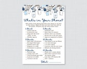 Blue Baby Shower What&#39...