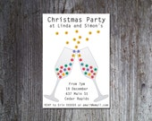 Christmas party invitation printable, Holiday invitations, Party invites, Printable Christmas party invitations
