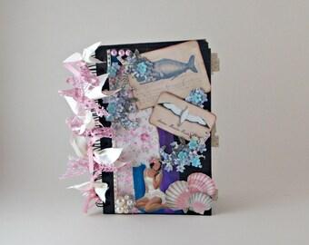 Retro Scrapbook, Summer Mini Album, Photo Album, Memory Book, Scrapbook Album, Photo Album Scrapbook, Premade Scrapbook, Mini Album