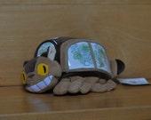 Vintage My Neighbor Totoro plush cat bus photo pillow-  Vintage Studio Ghibli, Tonari no Totoro, nekobus, neko bus plush pillow