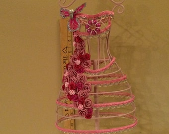 Victorian Style Wire Dress Form